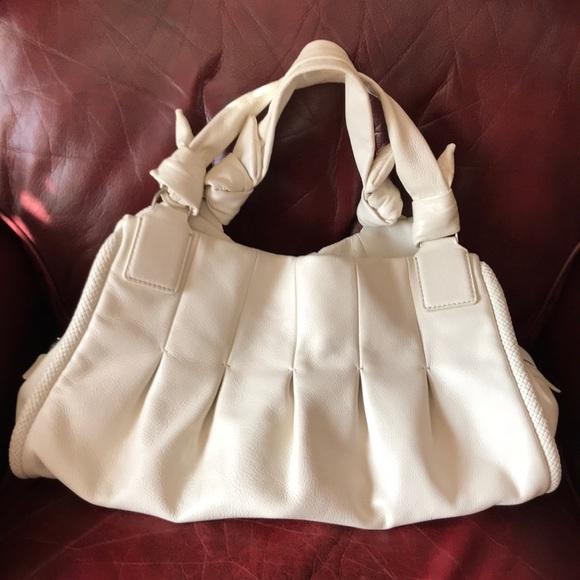 """fc0f93d0df9e37 Cole Haan Handbags - Cole-Haan large """"Phoebe"""" triple zip satchel"""